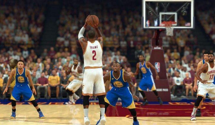 EA sports大作:NBA2k2017