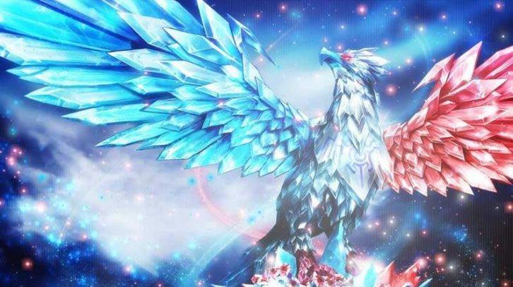 梦里的冰晶凤凰