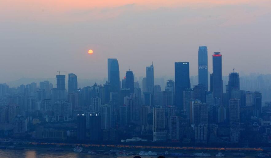 重庆近年来出现的雾霾天气