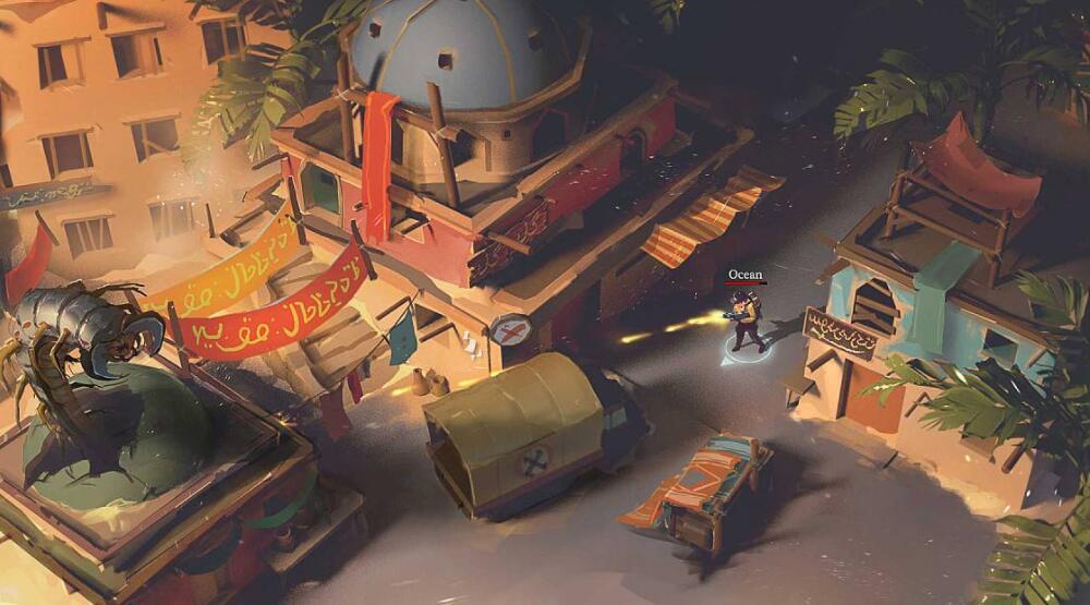 游戏中的藏宝图