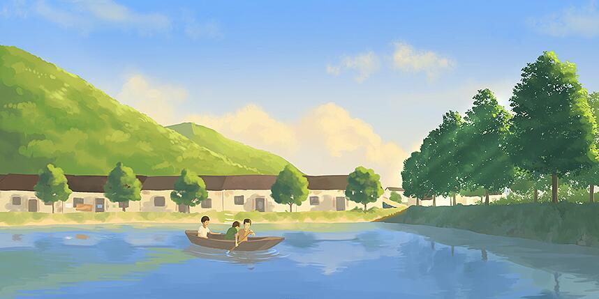 离开学校后回归小山村