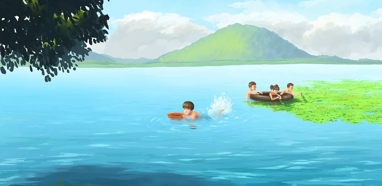 儿时游泳的记忆