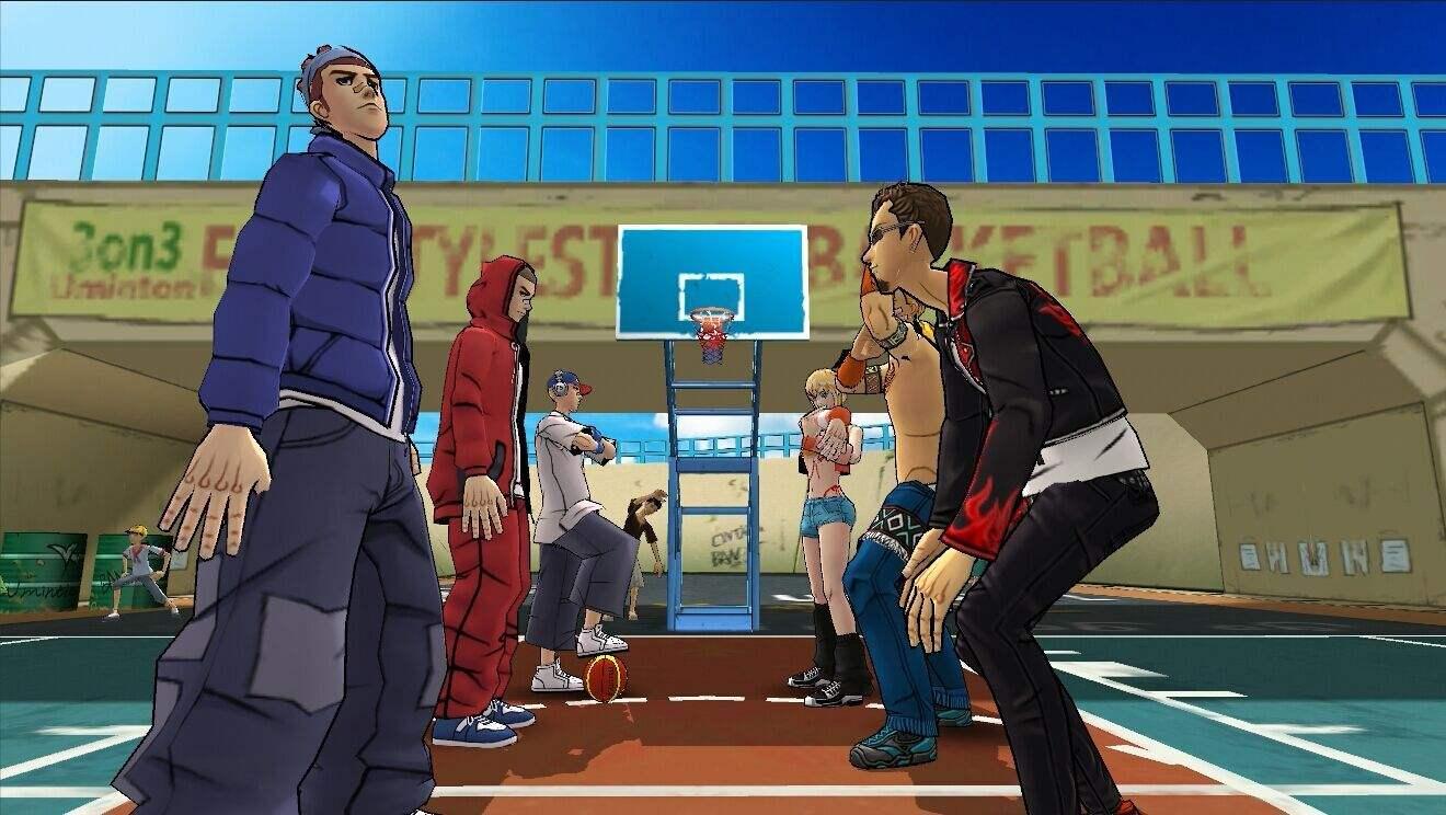 街头篮球三v三