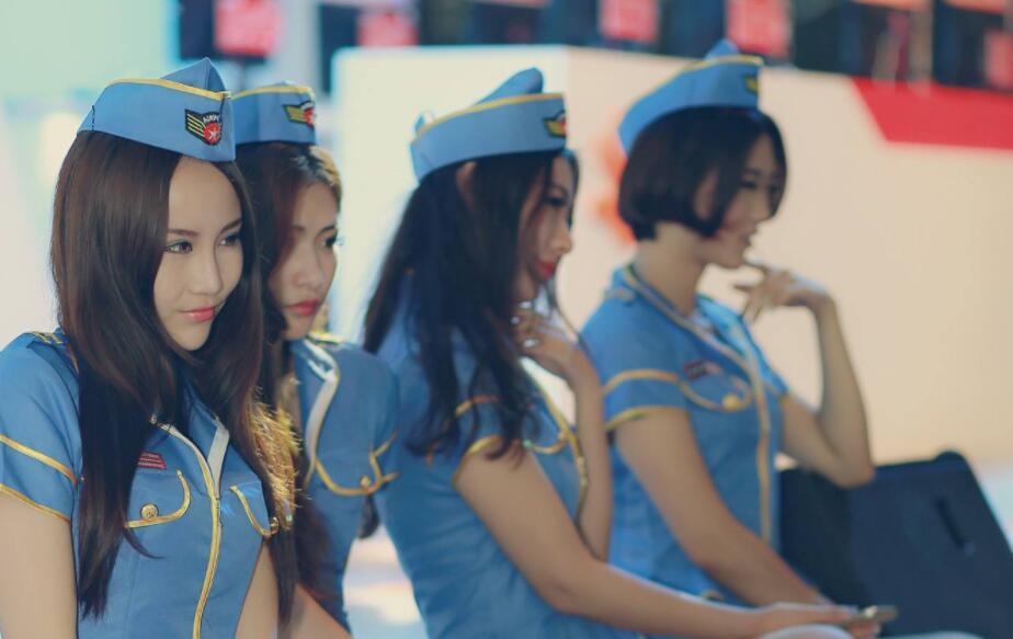 ChinaJoy上海shougirl空姐制服