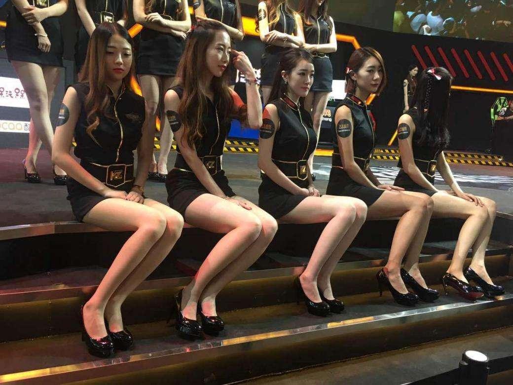 ChinaJoy Showgirl的美腿