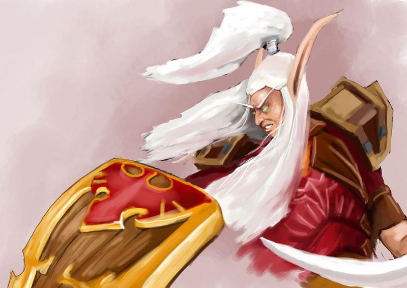 血精灵摄政王