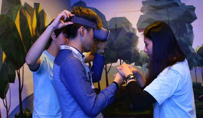 VR游戏也是游戏产业的一部分